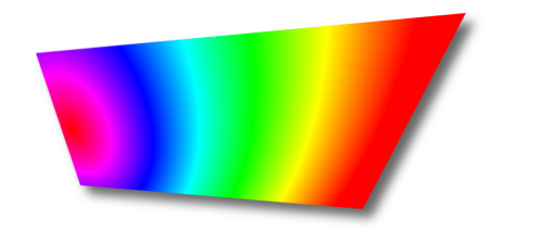 Color gradient example